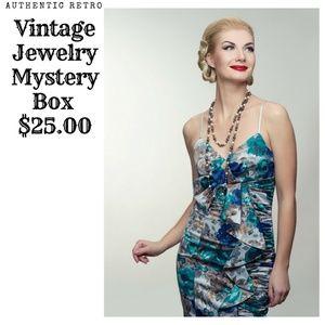 Vintage Costume Jewelry Mystery Box